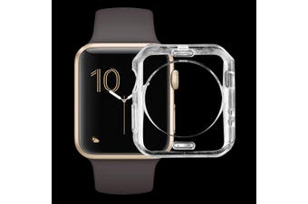 For Apple Watch Series 1 2 3(42mm) Transparent TPU Protective Case