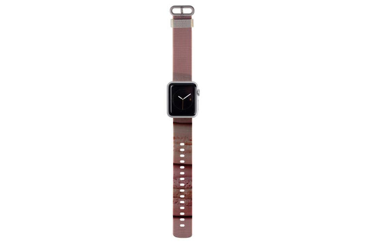 For Apple Watch Strap 40mm/38mm Nylon  Pink Macarons