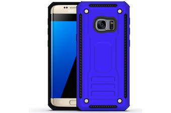 For Samsung Galaxy S7 EDGE Case  Armour Strong Shockproof Thin Tough Cover  Blue