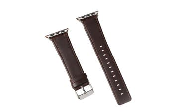 40mm,38mm for Apple Watch Series 1,2,3 and 4 Genuine Leather Strap Brown