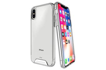 For iPhone XS & X Case iCoverLover Shockproof Clear Cover Protective Transparent