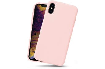 Pink Soft Protective For iPhone XS Max Silicone Case
