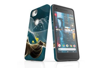 For Google Pixel 2 Case, Protective Back Cover, Magical Deer