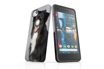 For Google Pixel 2 Case, Protective Back Cover, Long Coat Shepherd