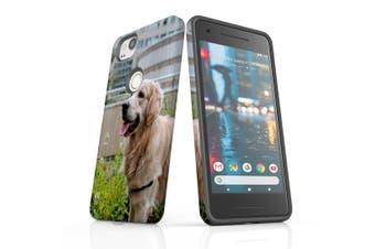 For Google Pixel 2 Case, Protective Back Cover, Goldern Retriever