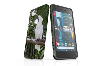 For Google Pixel 2 Case, Protective Back Cover, Cockatoo