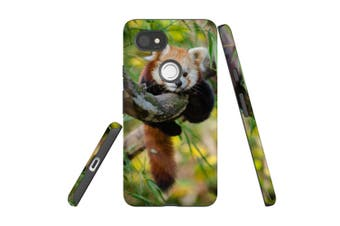 For Google Pixel 2 XL Case, Protective Back Cover, Red Panda