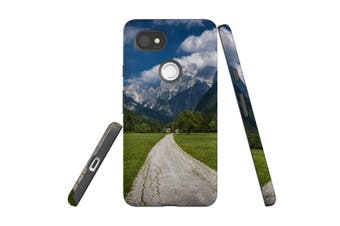 For Google Pixel 2 XL Case, Protective Back Cover, Alps Scenery
