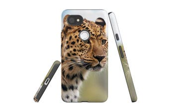 For Google Pixel 2 XL Case, Protective Back Cover, Preying Cheetah