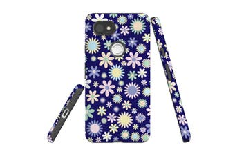 For Google Pixel 2 XL Case, Protective Back Cover, Flowerful