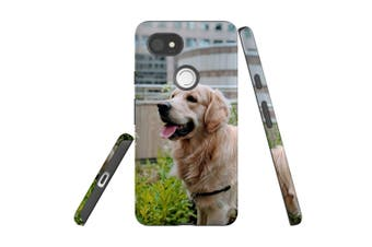 For Google Pixel 2 XL Case, Protective Back Cover, Goldern Retriever