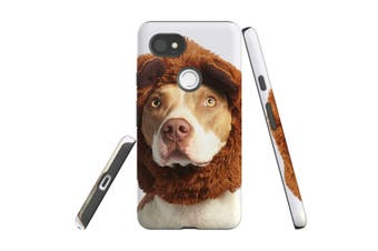 For Google Pixel 2 XL Case, Protective Back Cover, The Staffy Bear
