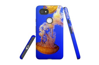 For Google Pixel 2 XL Case, Protective Back Cover, Jellyfish Duo