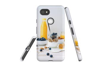 For Google Pixel 2 XL Case, Protective Back Cover, Healthy Brekkie