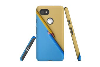 For Google Pixel 2 XL Case, Protective Back Cover, Blue or Yellow