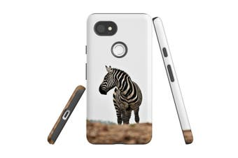 For Google Pixel 2 XL Case, Protective Back Cover, Zebra