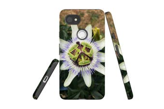For Google Pixel 2 XL Case, Armour Back Cover, Blossoming Flower