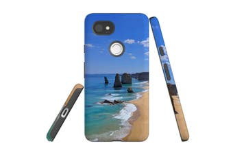 For Google Pixel 2 XL Case, Armour Back Cover, Famous Rocks
