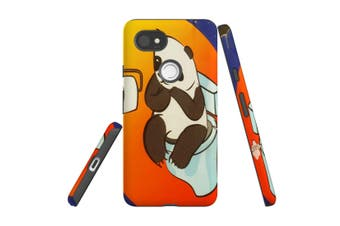 For Google Pixel 2 XL Case, Armour Back Cover, Panda's Toilet