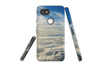 For Google Pixel 2 XL Case, Armour Back Cover, Clouds above the Sky