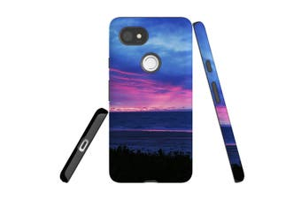 For Google Pixel 2 XL Case, Armour Back Cover, Sunset at the Beach