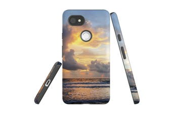 For Google Pixel 2 XL Case, Armour Back Cover, Beautiful Sunset