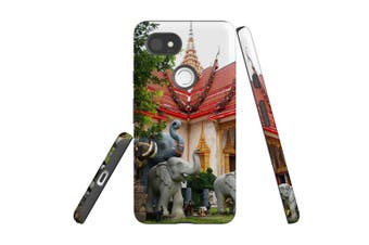 For Google Pixel 2 XL Case, Armour Back Cover, Elephant at the Temple