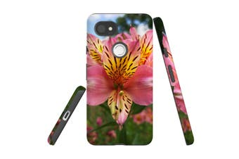 For Google Pixel 2 XL Case, Armour Back Cover, Flowering