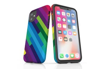 For iPhone 11 Protective Case, Rainbow