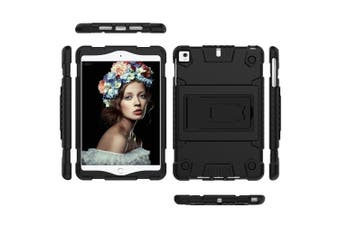 For iPad mini 5 (2019) Case,Full Cover TPU Protective Back Shell Cover,Black