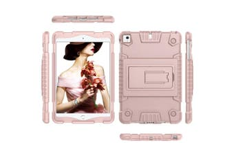 For iPad mini 5 (2019) Case,Full Cover TPU Protective Back Shell Cover,Rose Gold