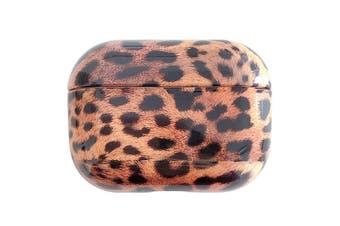 For AirPods Pro Case, Animal Print Protective Earphone Cover, Cheetah