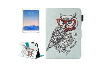 For iPad 2018,2017 Wallet Case,Dash Owl Smart Durable Protective Leather Cover