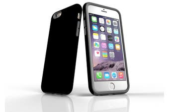Black For iPhone 6S Tough Case  Back Protective Cover