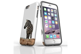 For iPhone 6S Case, Protective Back Cover, Zebra