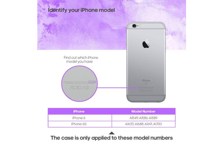 For iPhone 6s / 6 Shielding Case  Glass Wall