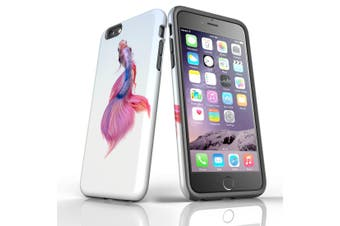 For iPhone 6S Plus Case, Protective Back Cover, Siamese Fighting Fish