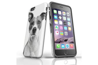 For iPhone 6S Plus Case, Protective Back Cover, Short Haired Dog
