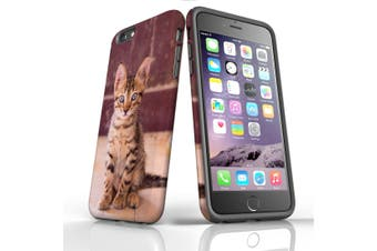 For iPhone 6S Plus Case, Protective Back Cover, Dragon Li Kitten