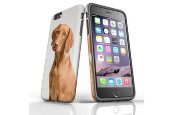 For iPhone 6S Plus Case, Protective Back Cover, Vizsla Portrait