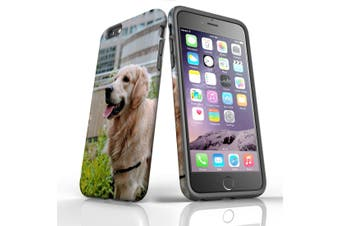 For iPhone 6S Plus Case, Protective Back Cover, Goldern Retriever