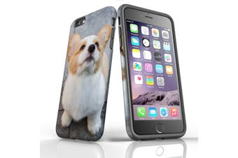 For iPhone 6S Plus Case, Protective Back Cover, Corgi Pup