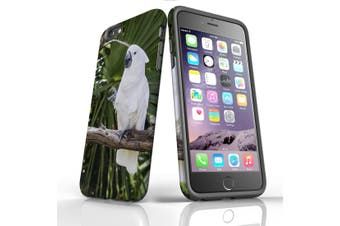 For iPhone 6S Plus Case, Protective Back Cover, Cockatoo