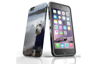 For iPhone 6S Plus Case, Protective Back Cover, Serene Schnauzer