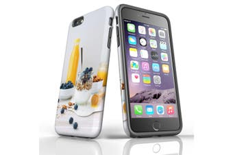 For iPhone 6S Plus Case, Protective Back Cover, Healthy Brekkie