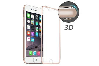 For iPhone 8,7 Screen Protector,High-Quality 3D Tempered Glass Cover,Rose Gold