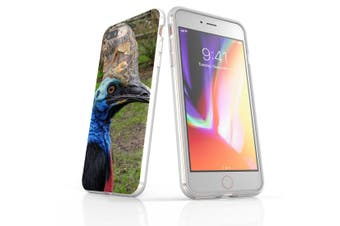 For iPhone 7 Plus Case Clear Soft Shockproof Protective Cover Cassowaries