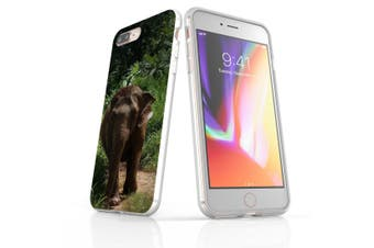 For iPhone 7 Plus Case Clear Soft Shockproof Protective Cover Thai Elephant