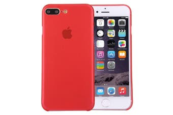 For iPhone 8 PLUS,7 PLUS Case,Elegant Ultra-thin Super-light Durable Cover,Red