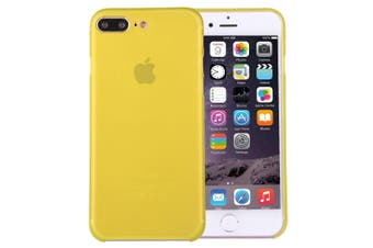 For iPhone 8 PLUS,7 PLUS Case,Elegant Slim Super-light Durable Cover,Yellow